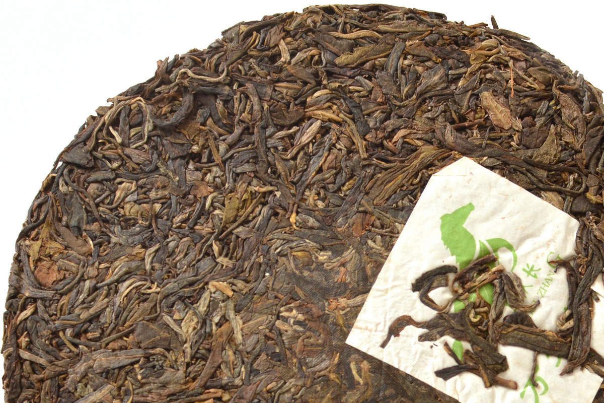 Чай пуэр черный или зеленый чай